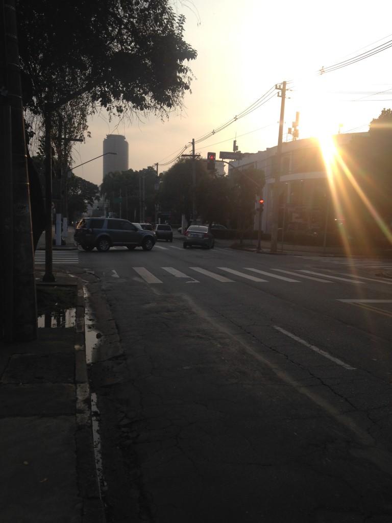 Rua de São Paulo, em janeiro de 2015 (foto: Leandro Beguoci)