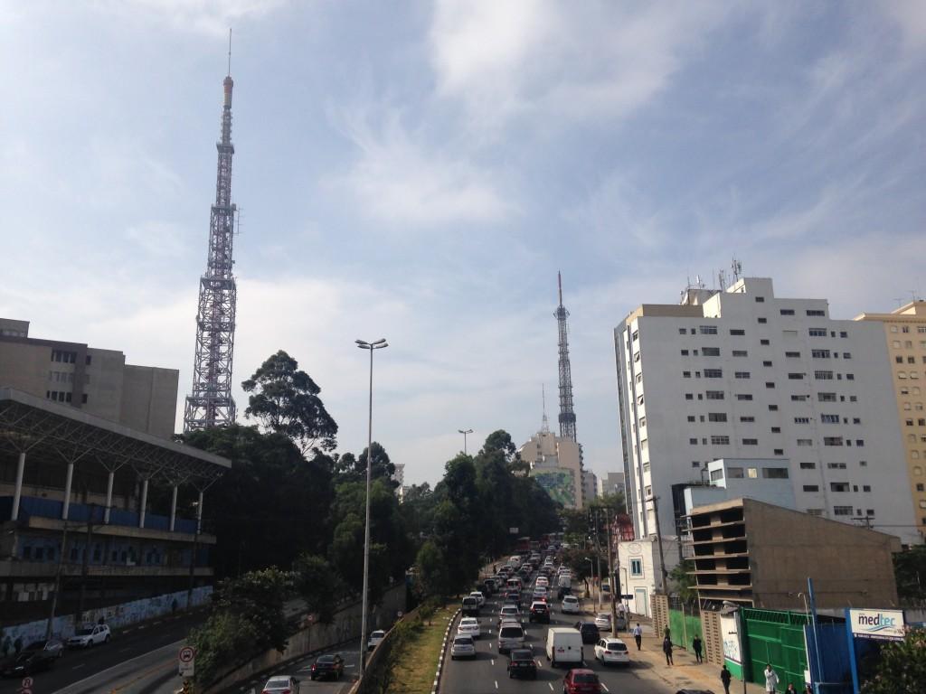 Avenida Rebouças, em São Paulo (foto: Leandro Beguoci)