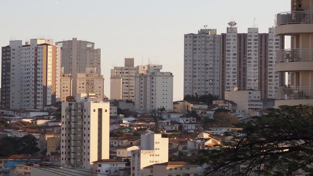 Vila Madalena vista da Pompéia, em São Paulo (foto: Leandro Beguoci)