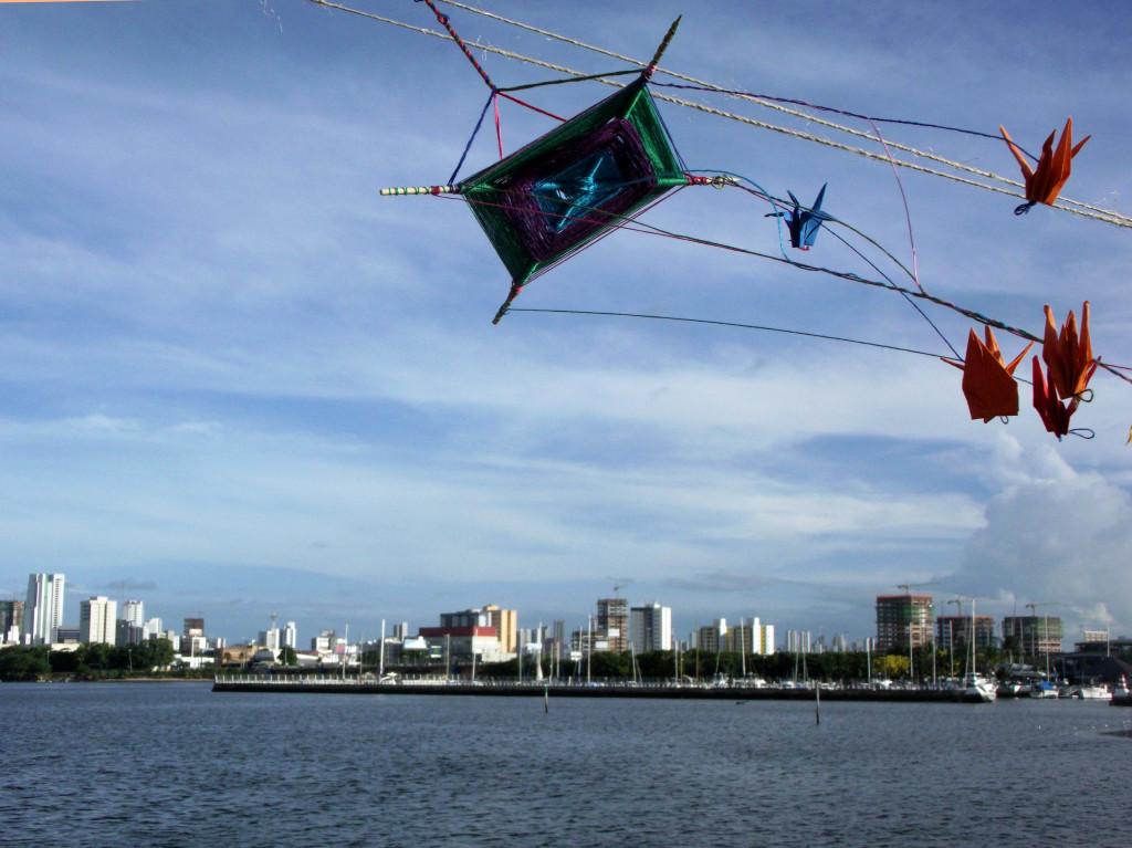 A pipa e o Recife (foto: Camila Almeida)