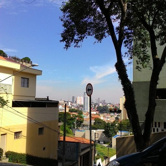 Uma das ruas pelas quais o Paulo Noviello passa, em São Paulo
