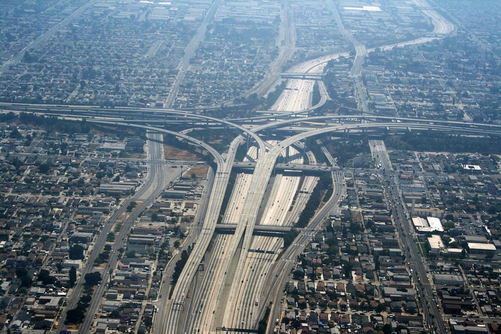 Judge Harry Pregerson é um conjunto de vias em Los Angeles (Foto: Remi Jouan)
