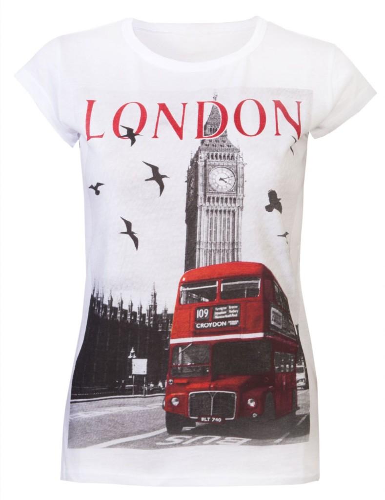 Camisa com ônibus de Londres (foto: Divulgação)