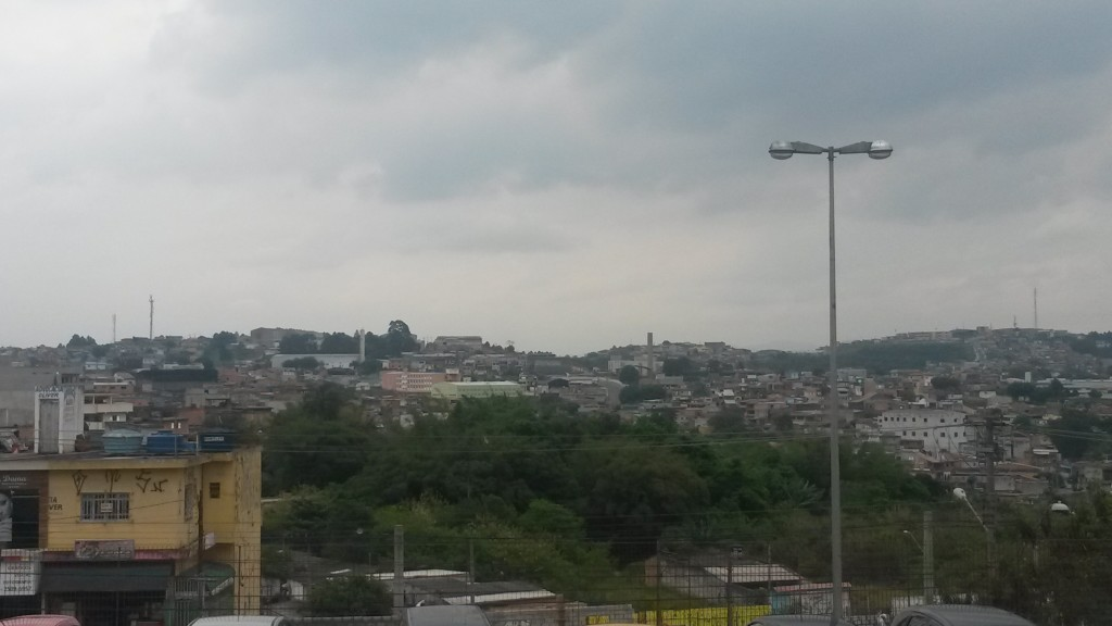 Ferraz de Vasconcelos, vista do CIC (Foto própria)