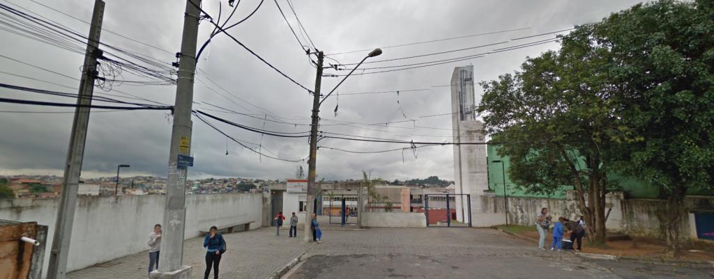 Entrada do CEu Capão Redondo (Fonte: Google Street View)
