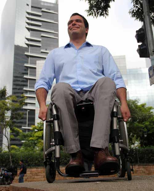 Bruno criou os critérios de avaliação com base na sua experiência como cadeirante (Divulgação)
