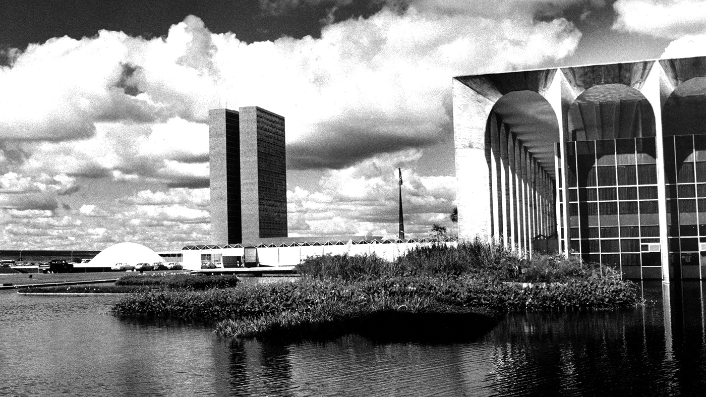 Brasília em 1980 (AP Photo/Pe Vedadano Brasil)