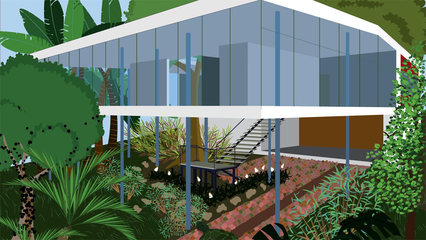 Casacadabra_Casa de vidro