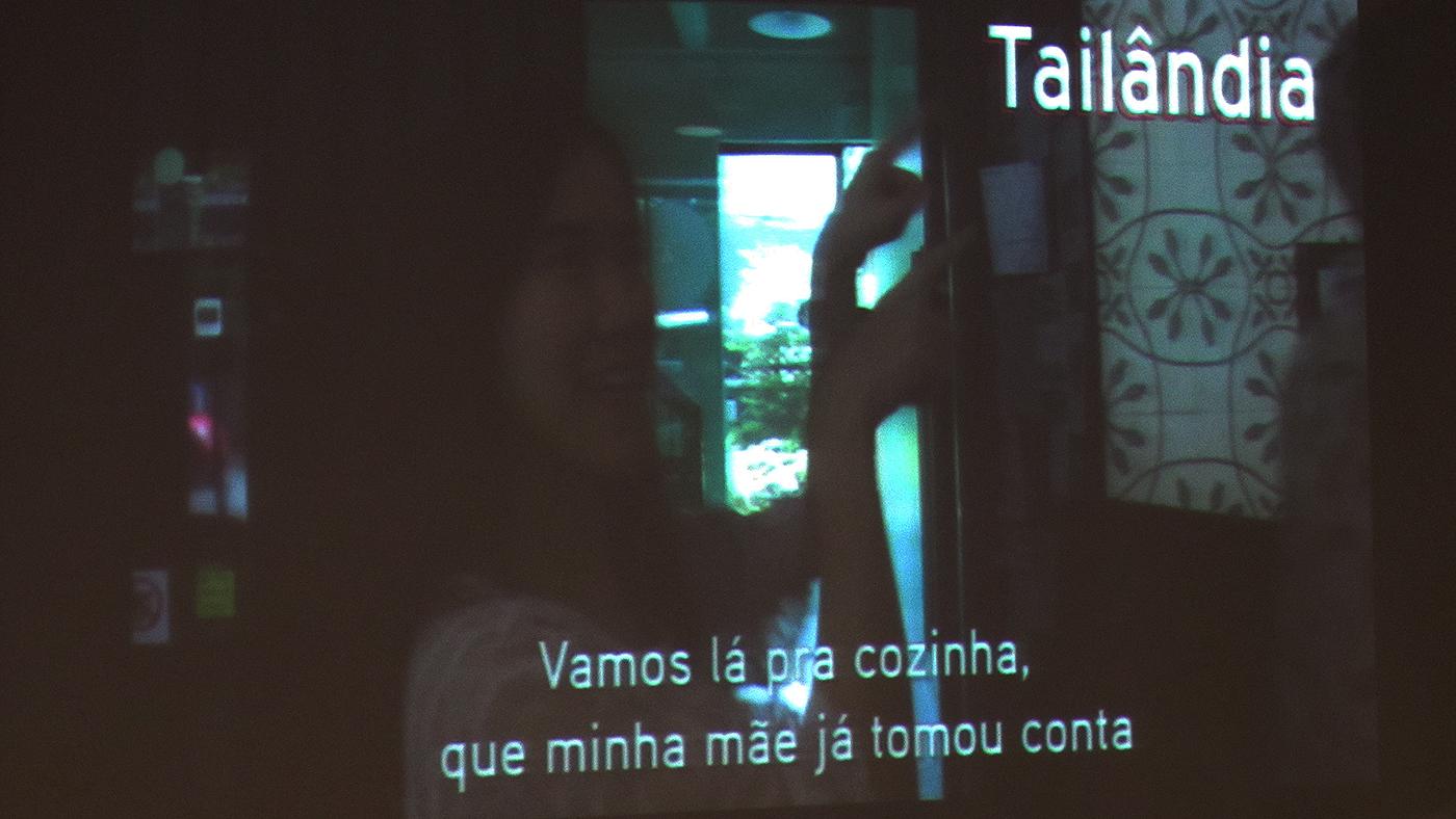 """Cena de vídeo apresentado na palestra """"O Mundo, na Rua"""" (Ubiratan Leal/Outra Cidade)"""