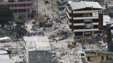 Como estão sendo mapeadas as áreas atingidas pelo terremoto no Equador
