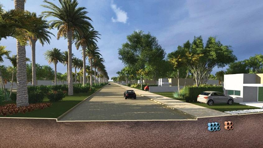 Área residencial do empreendimento (Divulgação)